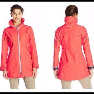 Helly Hansen Laurel Long Rain Snow Jacket Large
